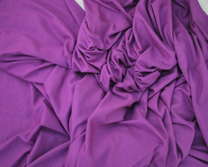 Togetherness purply lilac viscose jersey w