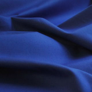 Photography of Plain Dyed Cotton Poplin - Royal Blue