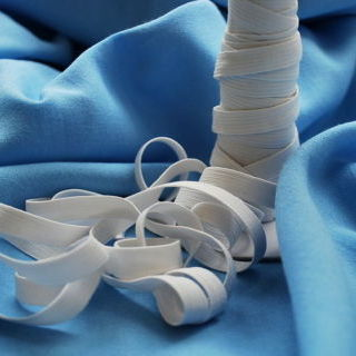 Photography of Elastic - White - 10 mm
