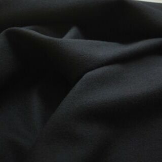 Photography of Black Wool with Cashmere Coating - New