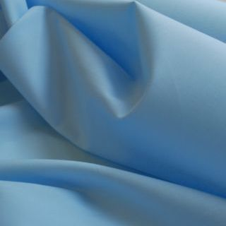 Photography of Plain Dyed Cotton Poplin - Pale Blue