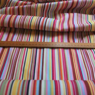 Photography of Poplin prints -  Stripe -Pink