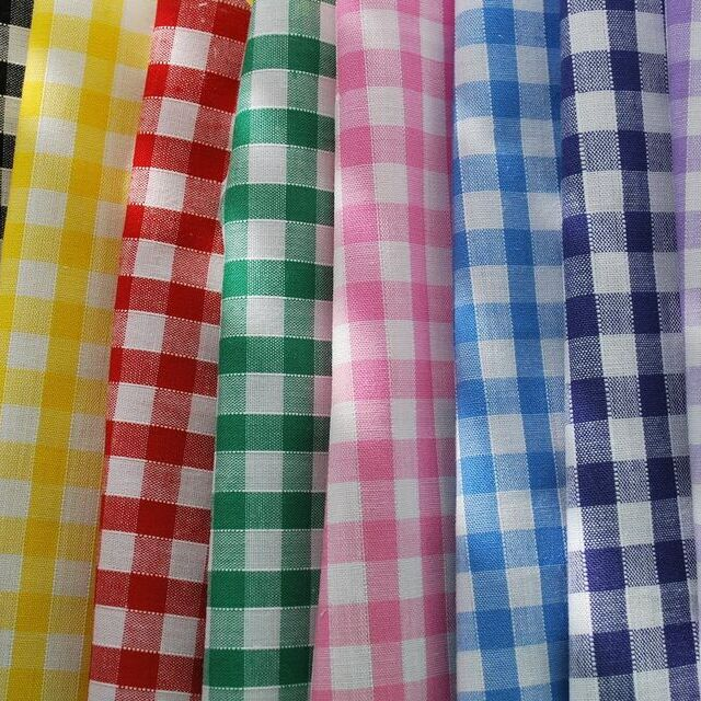 1/4 inch gingham collection