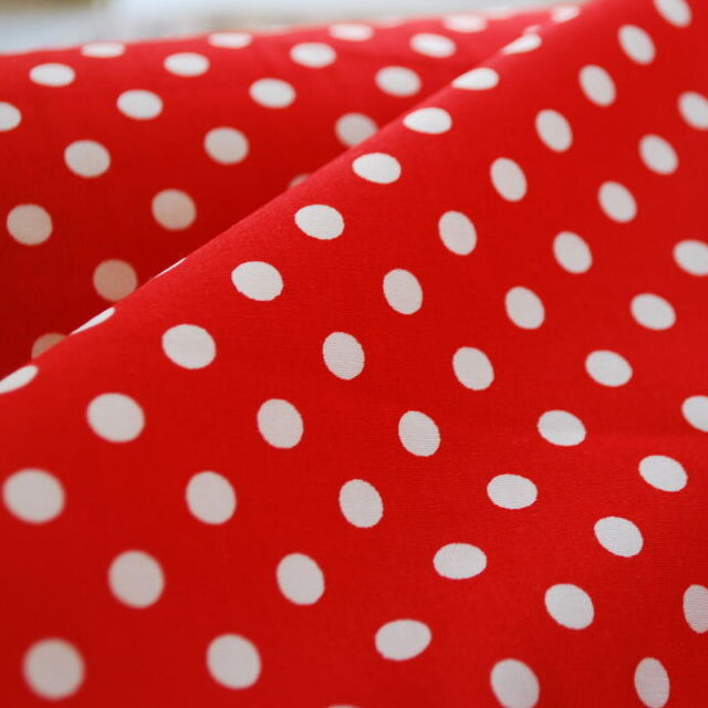 In the Red - Red Cotton Polka