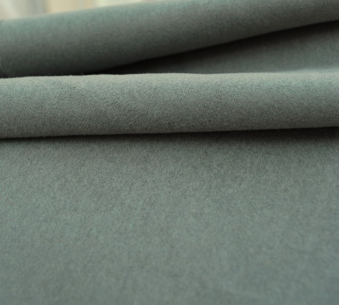 Slate Green Cotton Moleskin Fabric