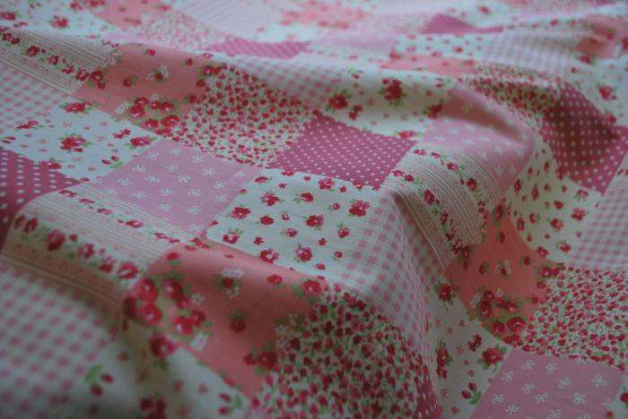 Cotton Poplin Patch Pink
