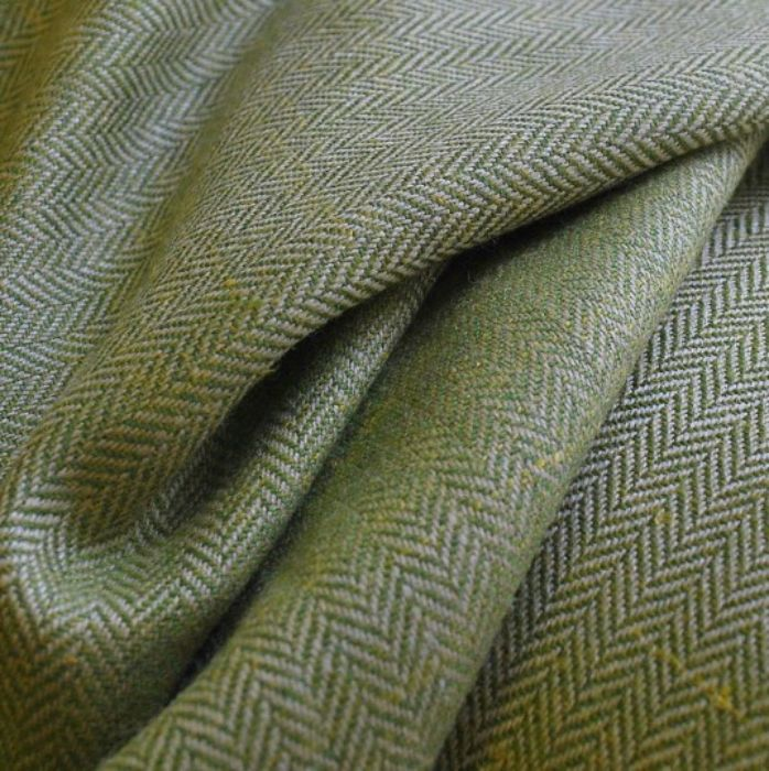 Royal Mix wool silk linen suiting fabric close up