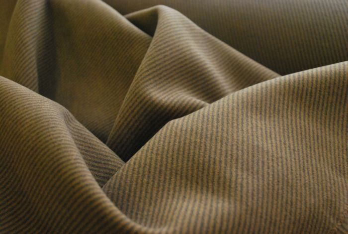 Twill Effect Cotton Moleskin fabric