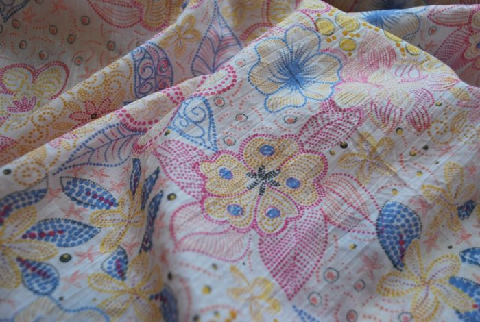 pastille cotton dress fabric