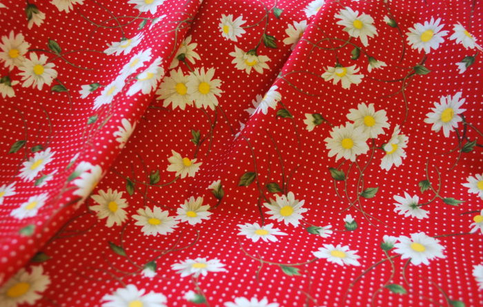Rose and Hubble Cotton dress fabric ll