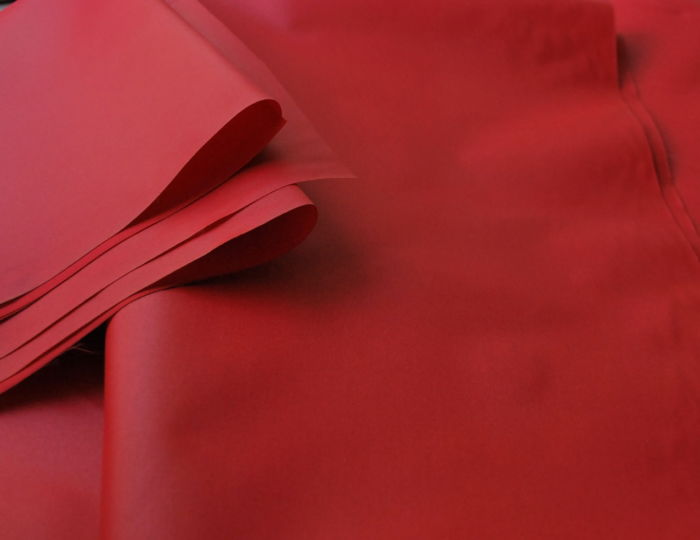 Henri red waterproof fabric IIa