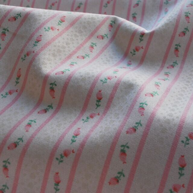 Incy wincey winceyette_cotton fabric_pink stripe