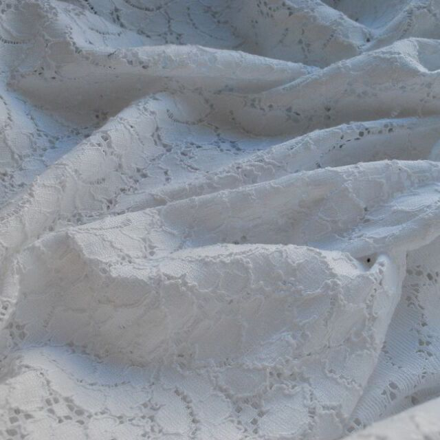 Lace Fabric_white