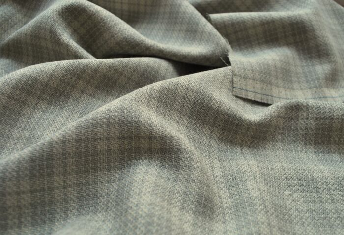Faint Hearted wool poly lightweight suiting fabric