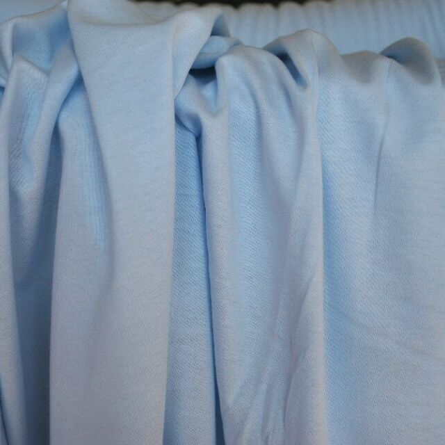 Photography of Cotton Jersey - Pale Blue