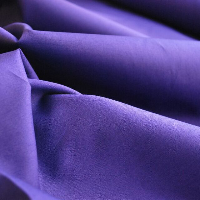 Photography of Plain Dyed Cotton Poplin - Purple