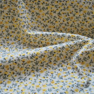Photography of Poplin prints - Tiny Yellow Rose