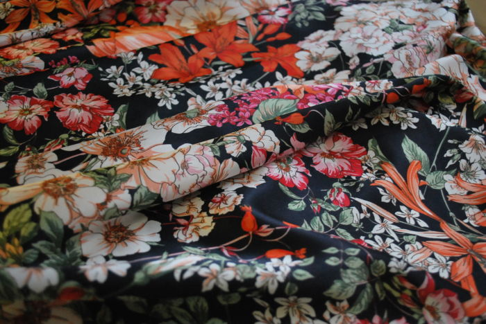 Malinky Dress Fabric floral