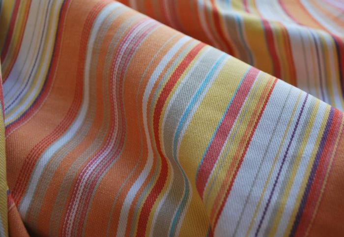 Copy of Be Bold Cotton stripe twill fabric