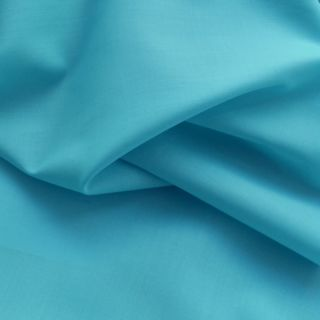 Photography of Superior Quality Plain Poly/Cotton - Pale Turquoise