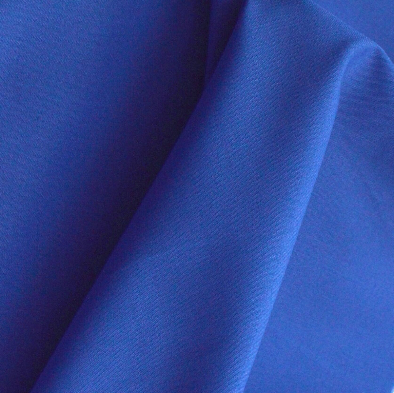 "10 MTR METALLIC BLUE ACETATE HEAVY BRIDAL SATIN FABRIC 45"" WIDE NEW IN STOCK £40"