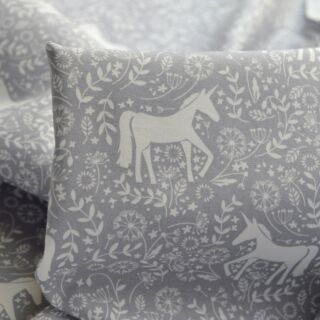 Photography of Poplin Prints - Evie's Dream - Grey