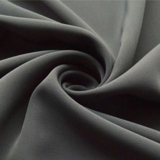 Photography of Superior Satin Crepe - Grey