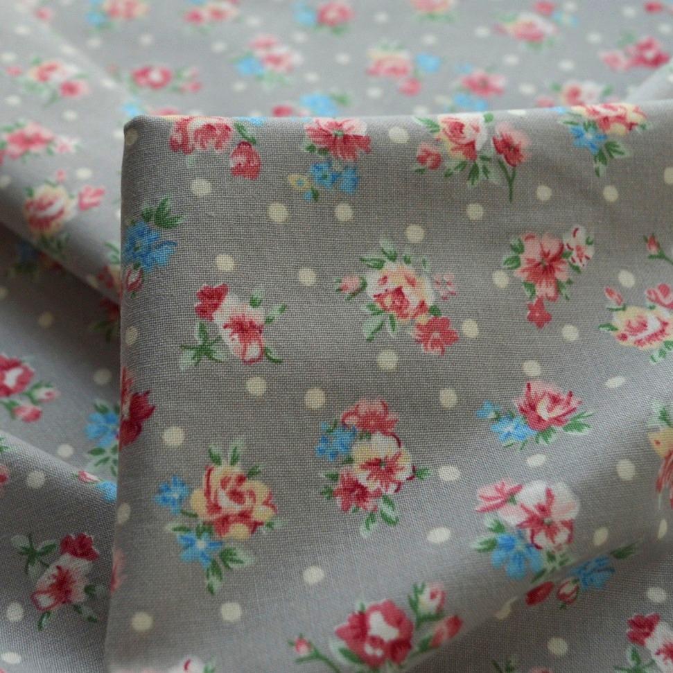 *NEW*Stretch Lycra Single Knit Floral Jersey Dress//Craft Fabric*FREE P/&P*
