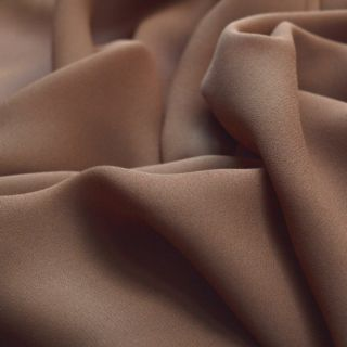 Photography of Georgette Dress Fabric - Latte