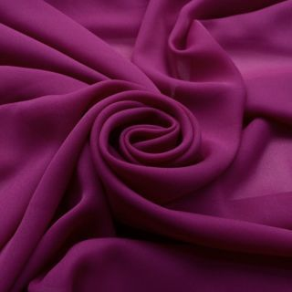Photography of Georgette Dress Fabric - Magenta