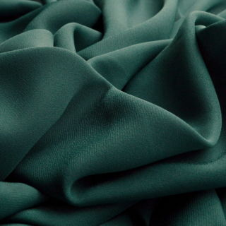 Photography of Georgette Dress Fabric - Teal