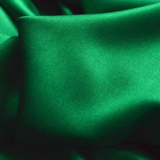 Photography of Set Piece 2M Luxury Satin Backed Crepe - Jewel Green