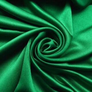 Photography of Set Piece - Luxury Satin Backed Crepe - Jewel Green 1m