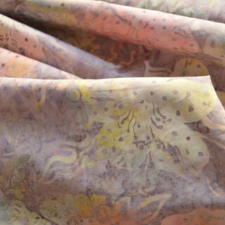 Photography of Indonesian Batik - Summer Pastels