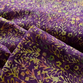Photography of Indonesian Batik - Tropical Purple
