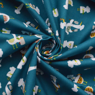 Photography of Clothworks - Gourmet Feathers - Teal
