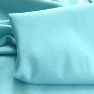 Photography of Mercerised Cotton Jersey - Aqua Blue