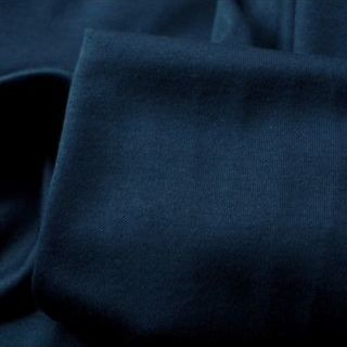 Photography of Set Piece - Mercerised Cotton Jersey - Navy- 1.5