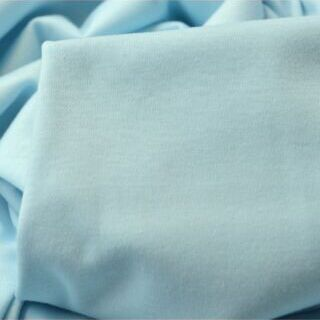 Photography of Mercerised Cotton Jersey - Powder Blue