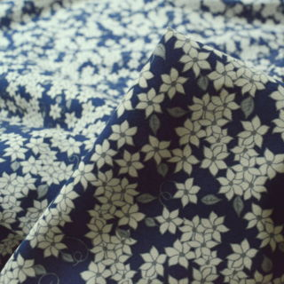 Photography of Poplin Prints - Jaslynn -Navy