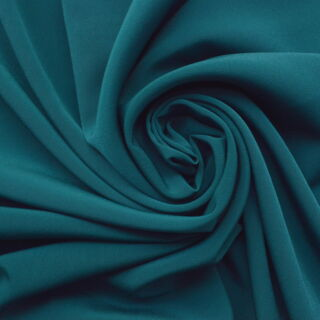 Photography of Superior Satin Crepe - Deep Teal