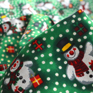 Photography of Christmas Cotton - Spotty Snowman