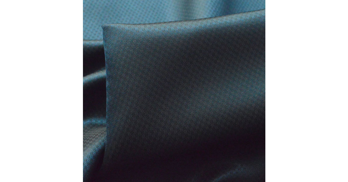 Photography of Linings - Polyester Petrol Blue