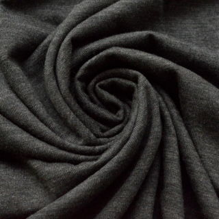 Photography of Ribbed Jersey - Charcoal