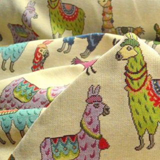 Photography of Tapestry - Llamas