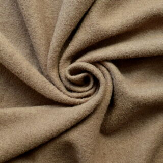 Photography of Boiled Wool - Beige