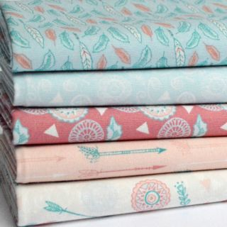 Photography of Fat Quarter Fabric bundle - 5 Pieces - Dream Catcher