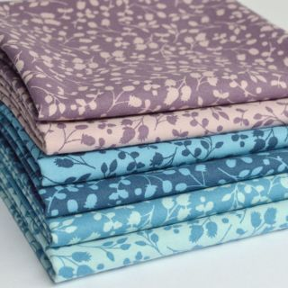 Photography of Fat Quarter Fabric bundle - 6 Pieces - Sprig - October