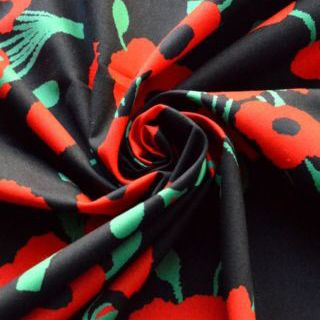 Photography of Poplin Prints - Perfect Poppies