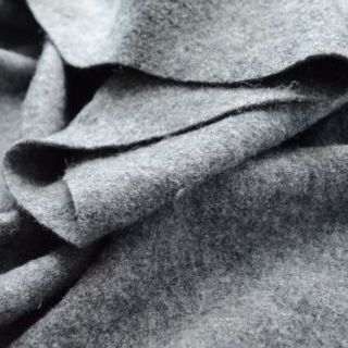 Photography of Pure Luxury - Boiled Wool - Grey Marl